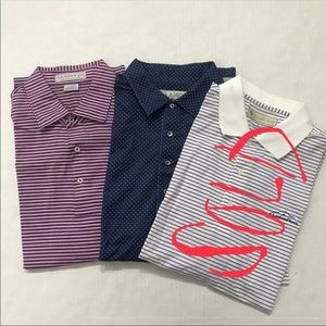 Donald Ross & Martin Ledgerock 2 Golf Polo Bundle